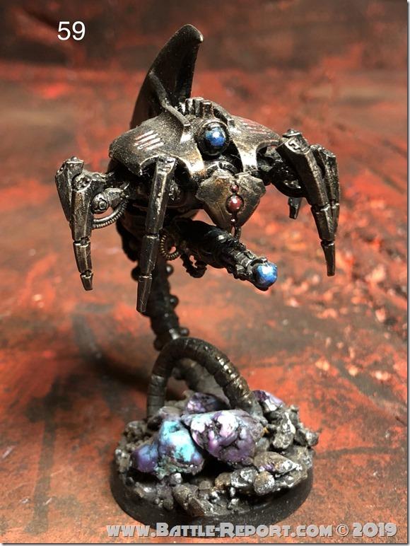 Necron Canoptek Wraith by Nyghoma