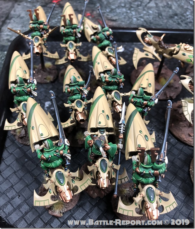 Eldar Shining Spears by Bill (14)