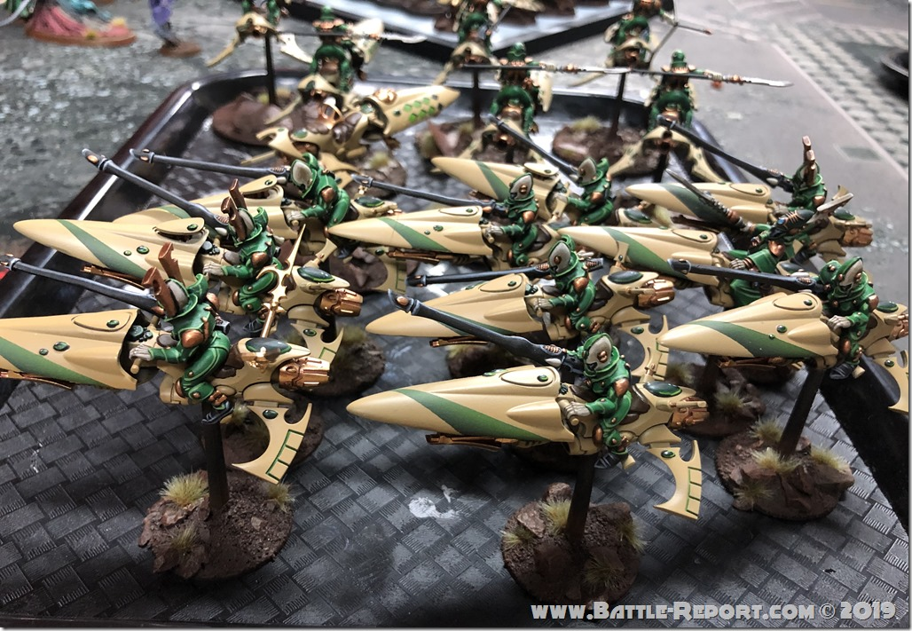 Eldar Shining Spears by Bill (4)