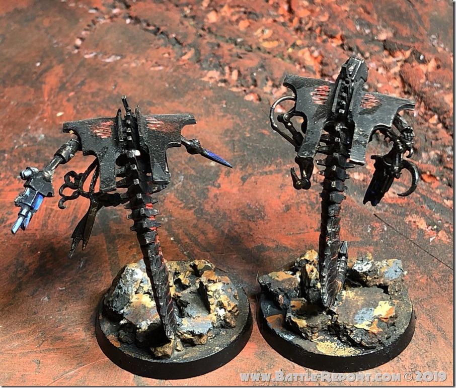 Necron Canoptek Wraiths by Nyghoma (1)