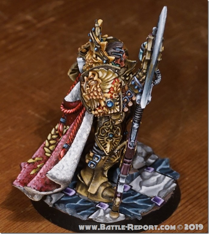 Adeptus Custodes  Shield-Captain by Tomas (2)