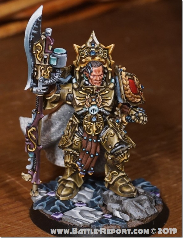 Adeptus Custodes  Shield-Captain by Tomas (3)