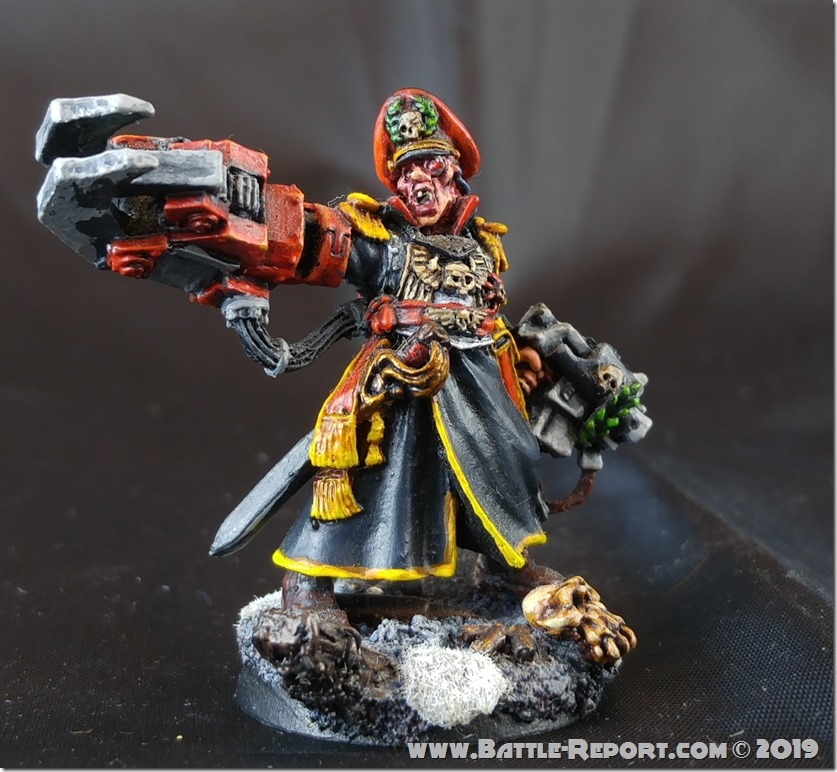 Commissar Yarrick by Joey K