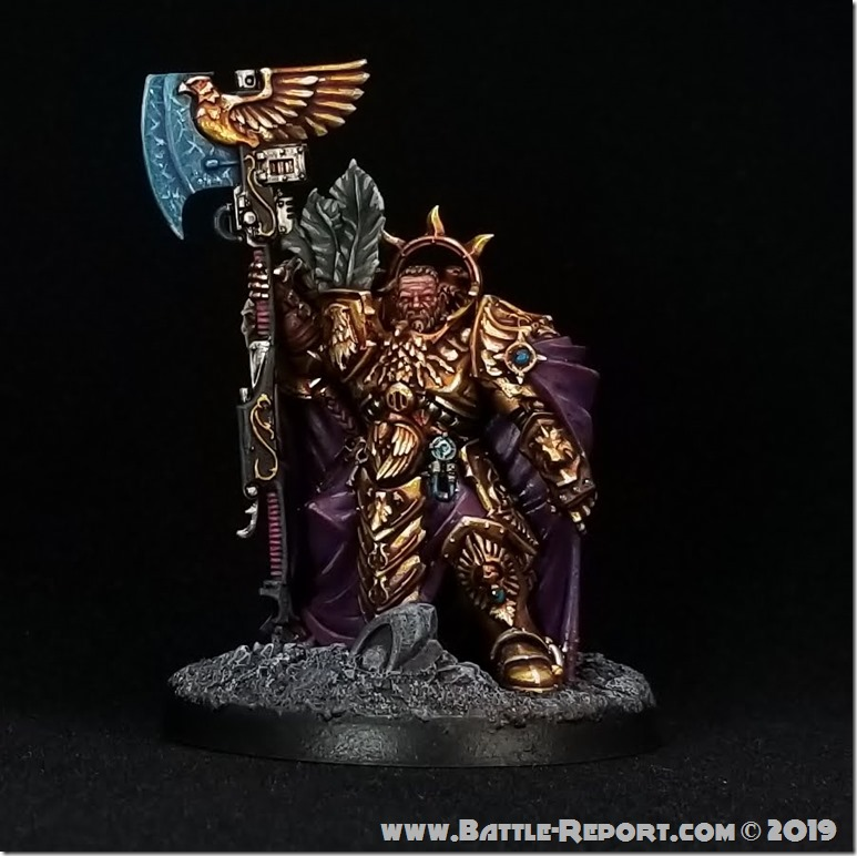Captain-General Trajann Valoris by Joey K