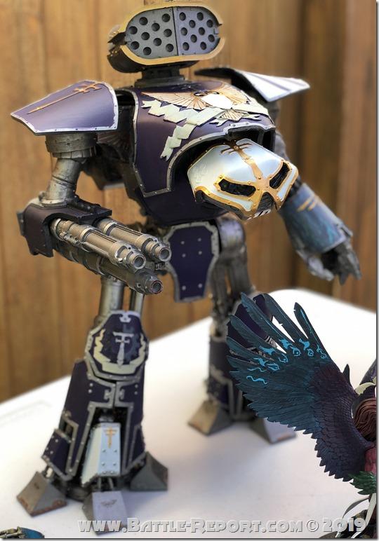 Legio Xestobiax Reaver Titan by Christopher Tobin