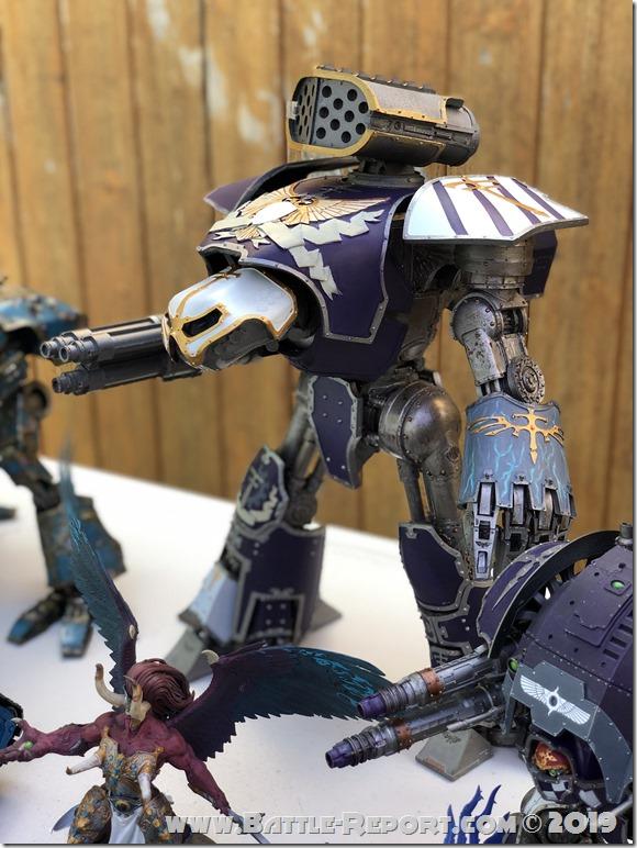 Legio Xestobiax Reaver Titan by Christopher Tobin (2)