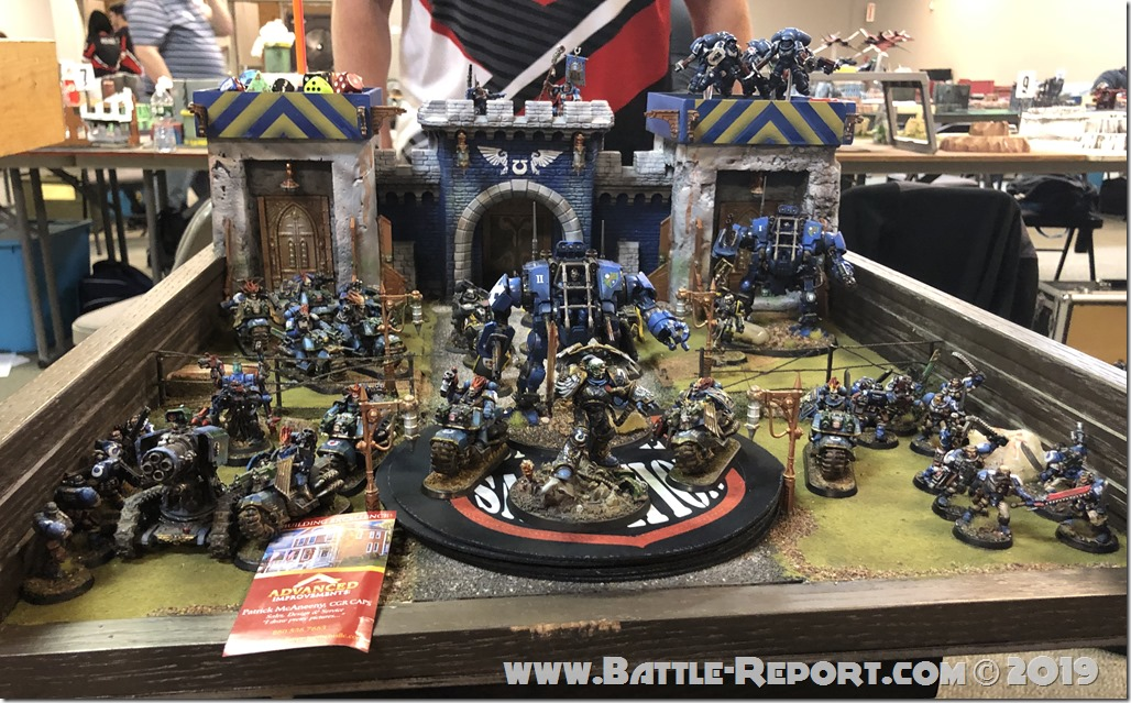 Armies of the 2019 BFS X GT – Ultramarines by Patrick McAneeny