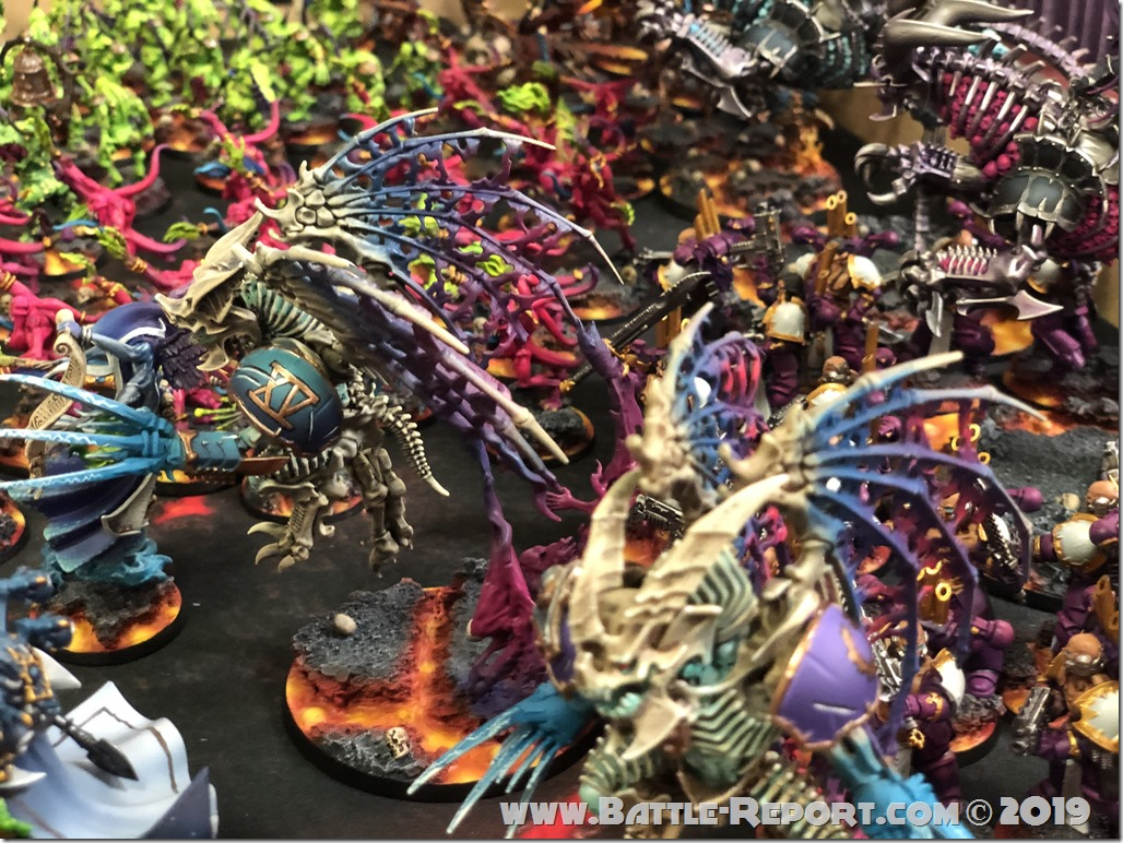 Chaos Daemons and Thousand Sons by Matt Aaron (16)