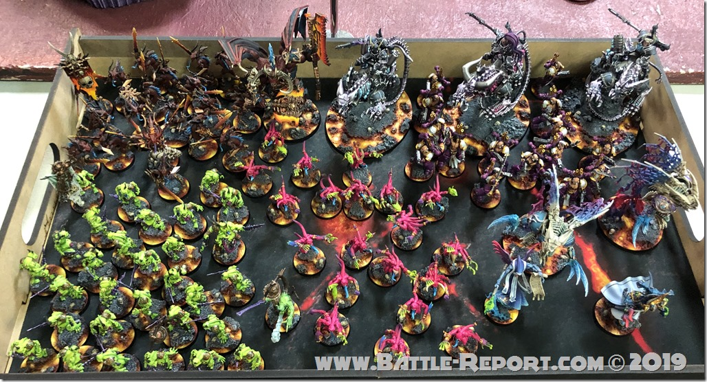 Chaos Daemons and Thousand Sons by Matt Aaron (1)