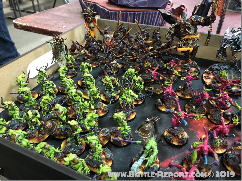 Chaos Daemons and Thousand Sons by Matt Aaron (6)