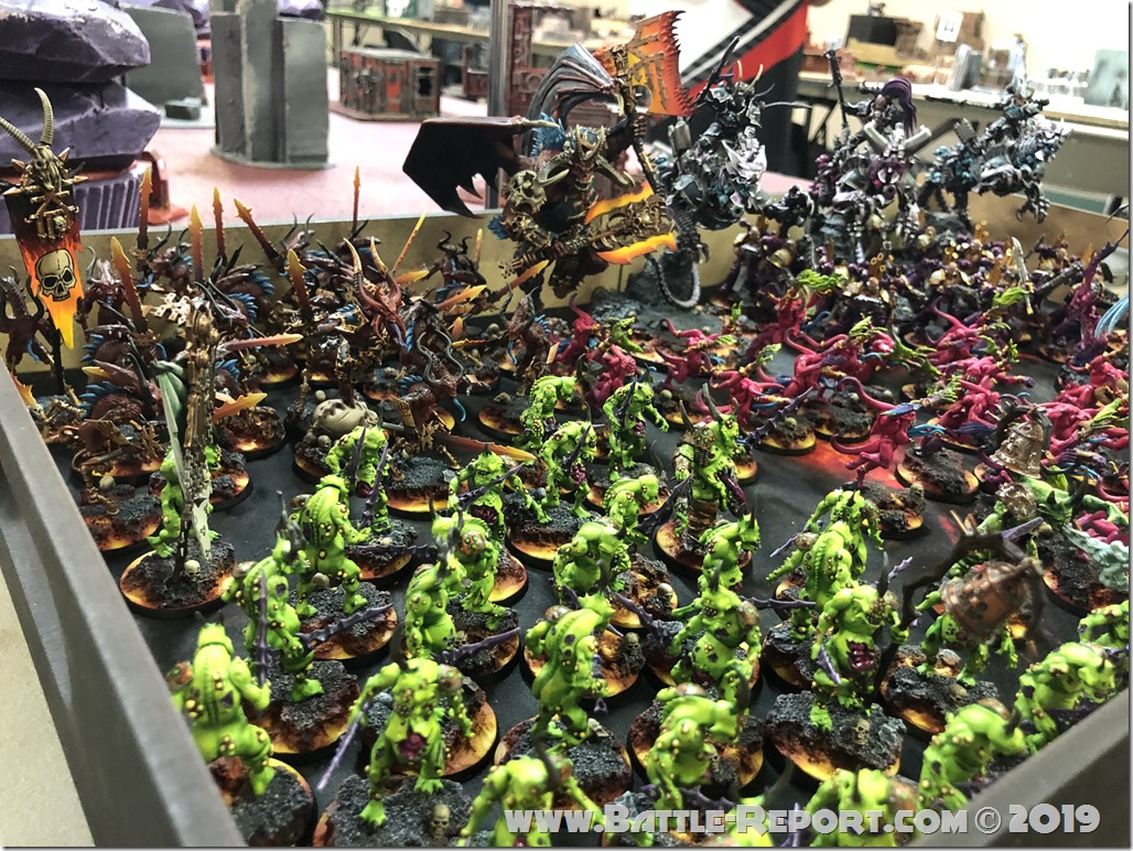 Chaos Daemons and Thousand Sons by Matt Aaron (8)