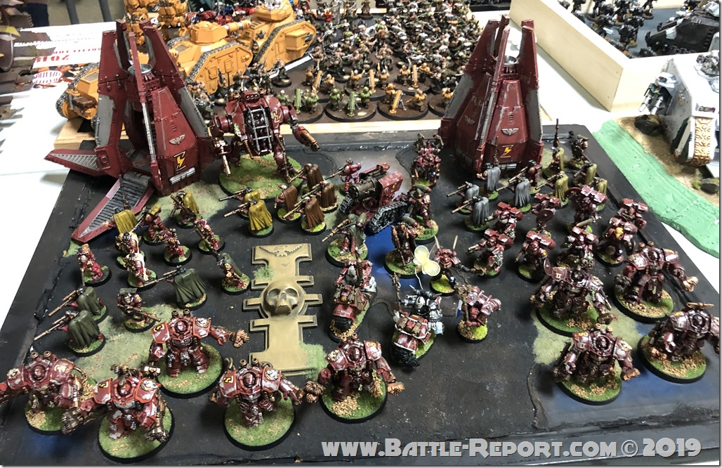 Armies of the 2019 BFS X GT – Blood Angels