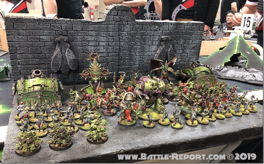 Armies of the 2019 BFS X GT – Death Guard & Nurgle by Josh Glantz