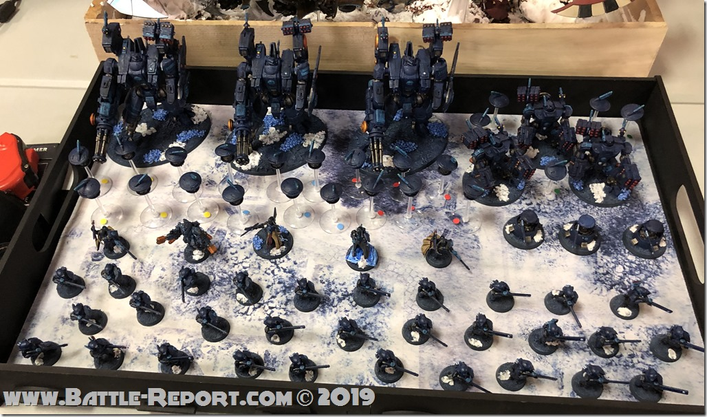 Armies of the 2019 BFS X GT – T'au