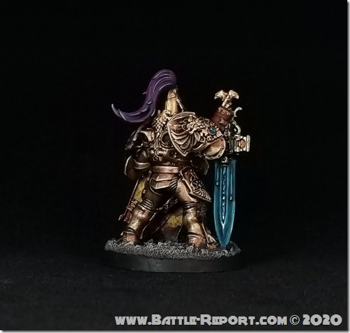 Adeptus Custodes Custodian Guard Shield-Captain by Joey K (2)