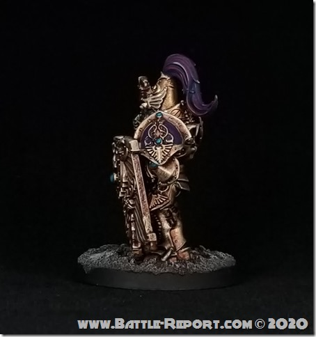 Adeptus Custodes Custodian Guard Shield-Captain by Joey K (3)