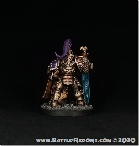 Adeptus Custodes Custodian Guard Shield-Captain by Joey K (4)
