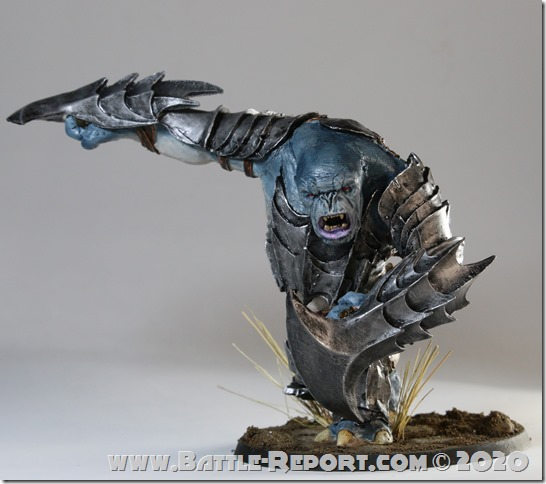 Gundabad Troll with Scythe Gauntlets by Milan
