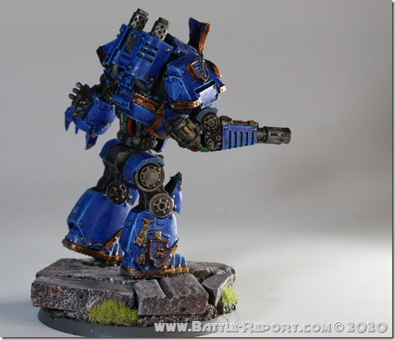 Milan's Thousand Sons Contemptor Dreadnought (10)