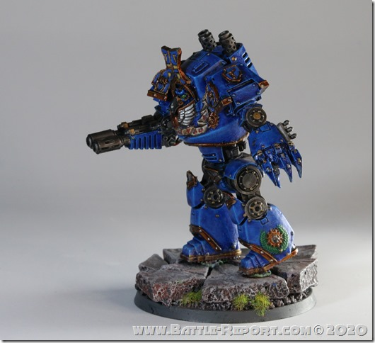 Milan's Thousand Sons Contemptor Dreadnought (4)