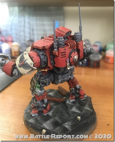 Blood Ravens Primaris Invictor Tactical Warsuit by John Batch (2)