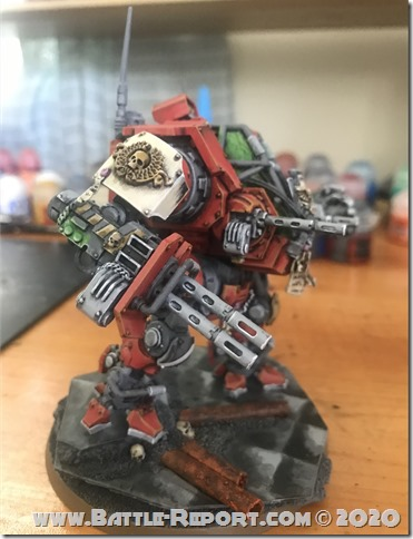 Blood Ravens Primaris Invictor Tactical Warsuit by John Batch (3)