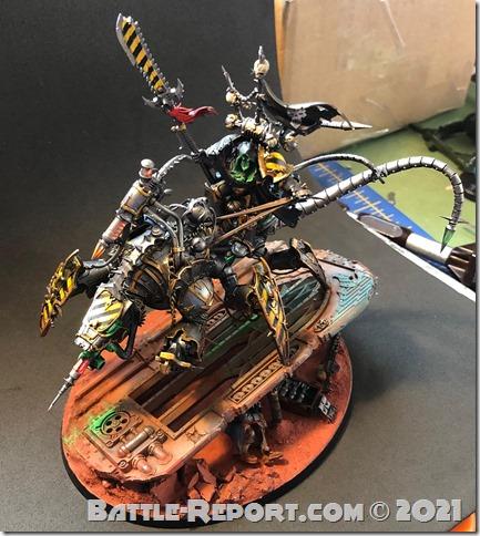 Iron Warriors Lord Discordant on Helstalker by Joseph Escobar (1)