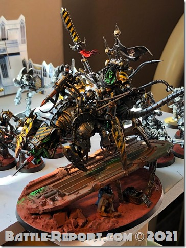 Iron Warriors Lord Discordant on Helstalker by Joseph Escobar (4)