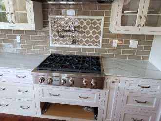 Walker Zanger tile kitchen backsplash