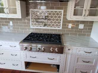 Walker Zanger tile kitchen backsplash