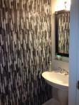 Bathroom tile walls