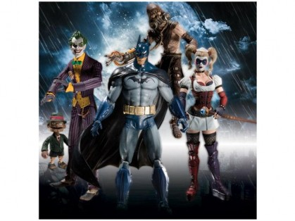 Arkham Asylum Action Figures at Big Bad Toy Store