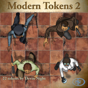 Devin Night's Token Pack #32: Modern Tokens 2