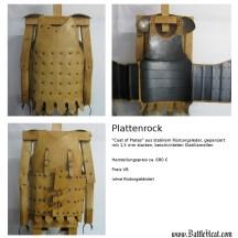 Plattenrock