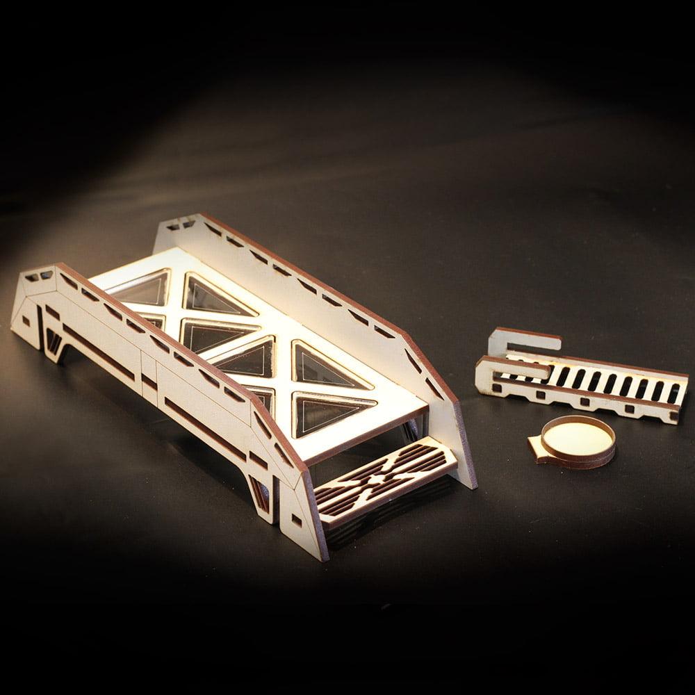 laser cut bridge terrain piece