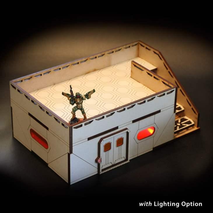 laser terrain for infinity