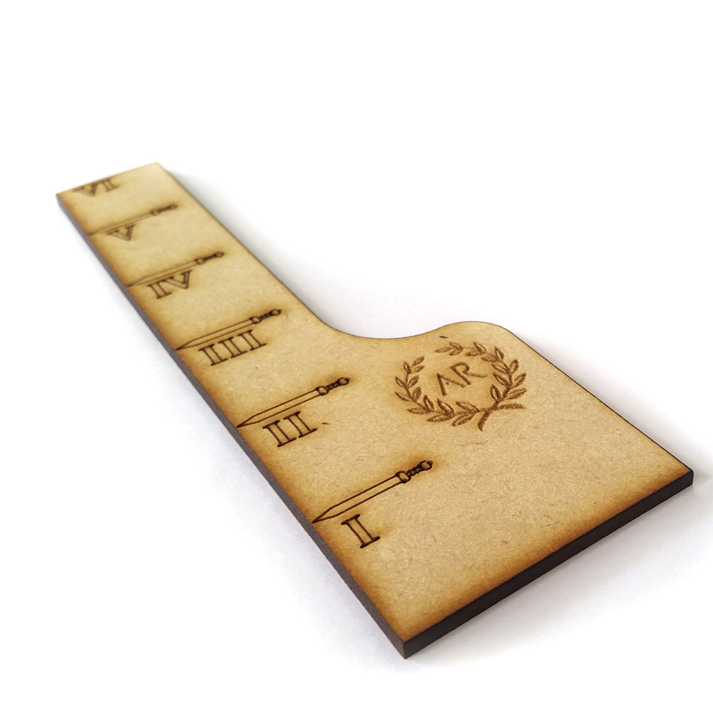 movement ruler widget for arena rex tabletop game