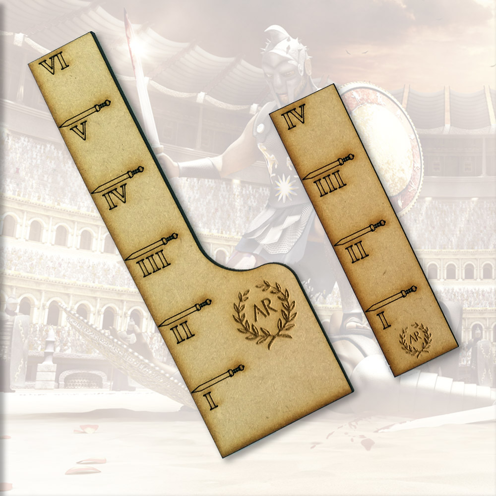 movement ruler widgets for arena rex tabletop game