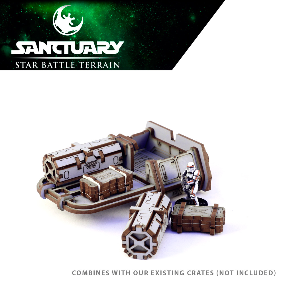 crate loader vehicle for star wars miniature games