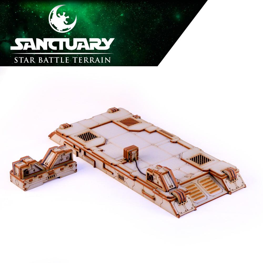 scifi wargaming power platform terrain piece