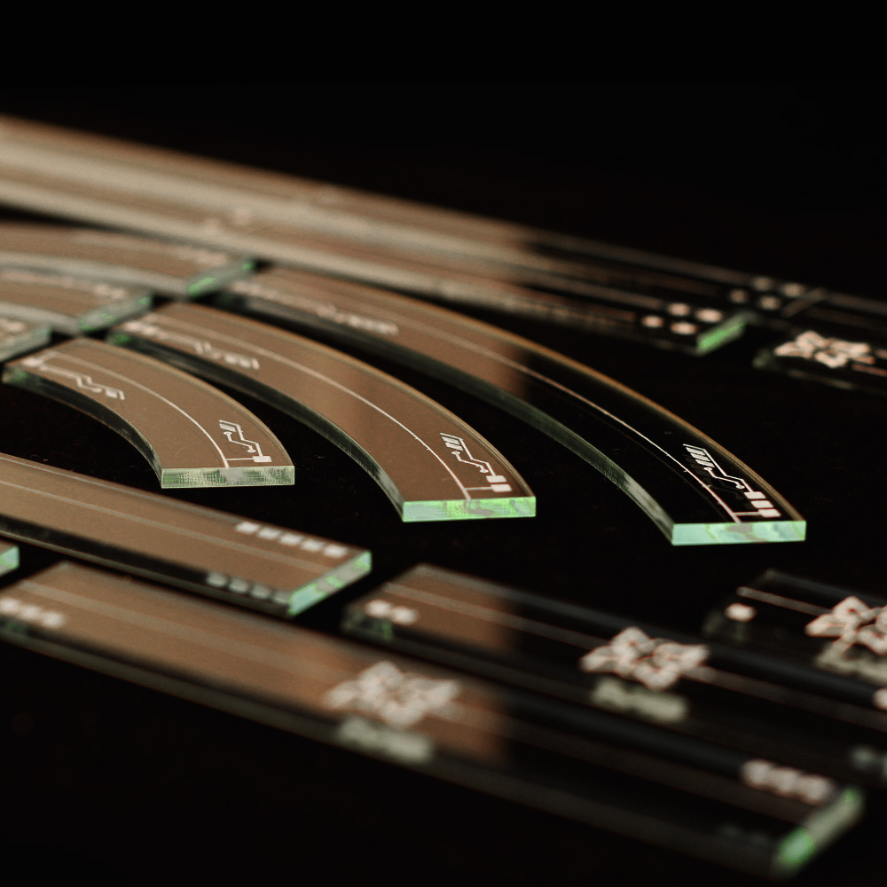 close up of x-wing 2.0 templates