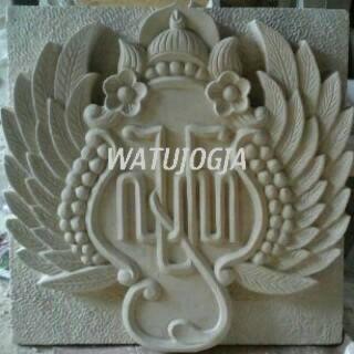 Ukiran Relief Lambang Keraton Yogyakarta