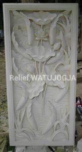 relief batu taman
