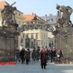 פראג - מצודת פראג וגשר קארל - רשומה שלישית 26.3.14 - בדרך לדרזדן בגרמניה