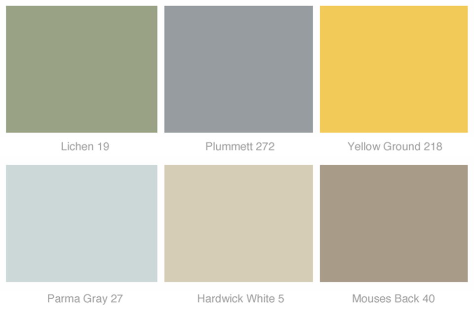 Yellow Colour Palette
