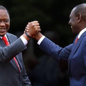 Kenya Election - Uhuru Kenyatta + William Ruto