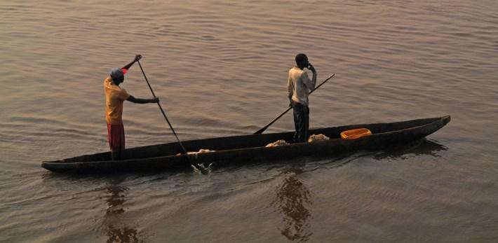 Kinsahsa - fishing boat