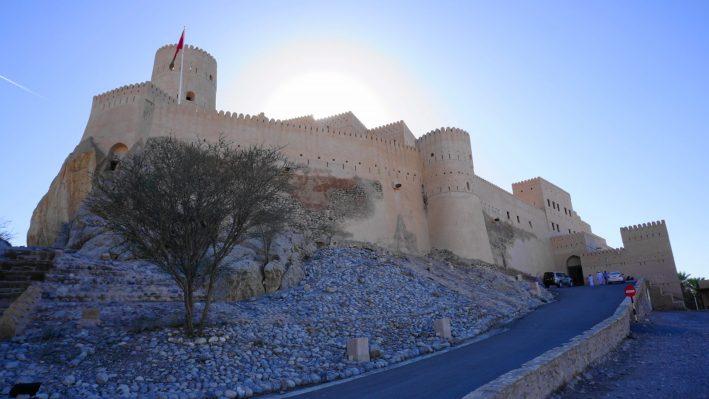 Muscat Nakhal Fort (sunset)
