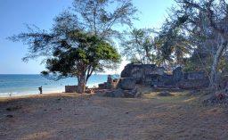 Jumba Ruins in Mtwapa, Kenya