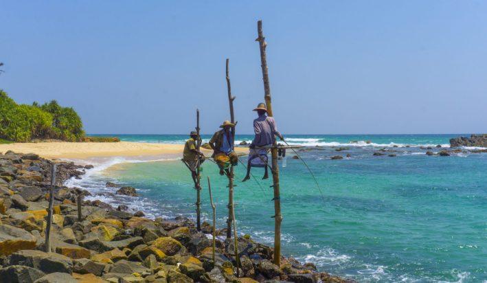 Koggala Stilt Fishermen 2
